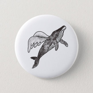 Flying Whale pin