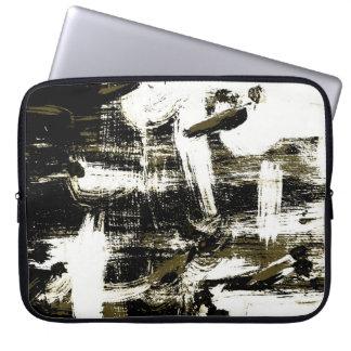 Flying White Birds Expression Laptop Sleeve