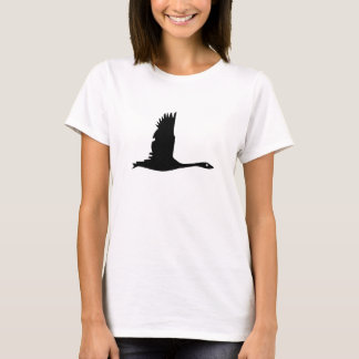 Flying Wild Goose Silhouette - T-shirt