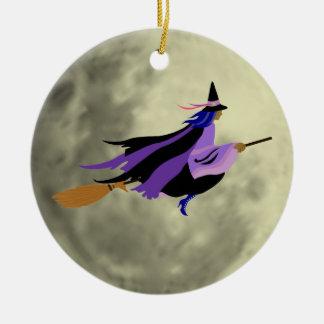 Flying Witch Ornament