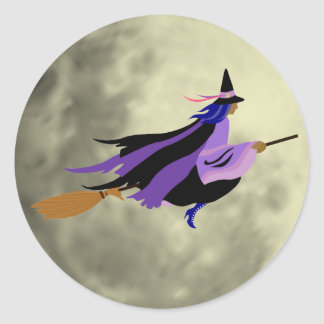 Flying Witch Stickers