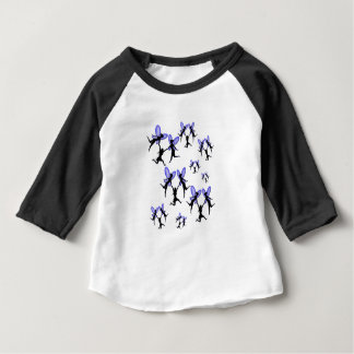 flying with faries baby T-Shirt