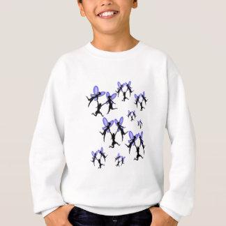 flying with faries sweatshirt