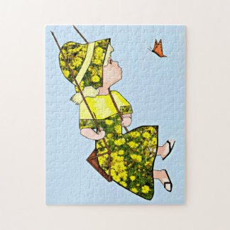 Flying With The Butterfly Jigsaw Puzzle