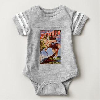 Flying Woman Baby Bodysuit
