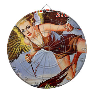 Flying Woman Dartboard
