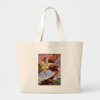 Flying Woman Large Tote Bag