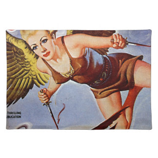 Flying Woman Placemat