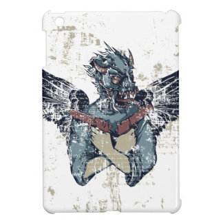 flying zombie with wings iPad mini cover