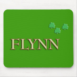 Flynn Family Name Mouse Pad