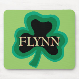 Flynn Family Name Mouse Pads