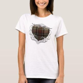 Flynn Tartan Heart T-Shirt