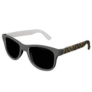 Flyology Lux Print black Sunglasses