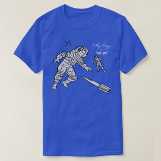 Flyology Space Cadets blue T-Shirt