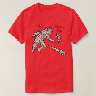 Flyology Space Cadets red T-Shirt