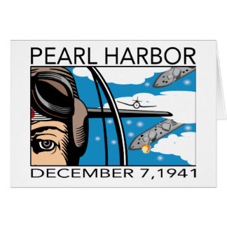 Flyover Pearl Harbor Card