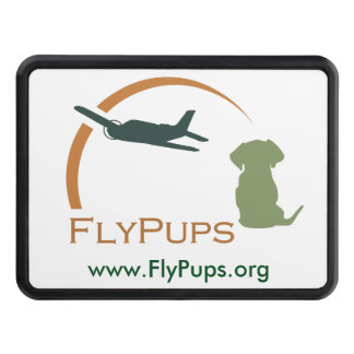 FlyPups Trailer Hitch Cover