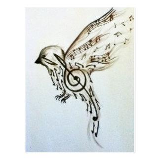 Flys de musique carte postale