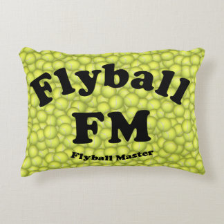 FM, Flyball Master Accent Pillow
