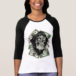 FM RESERVE NOTE BW womens baseball T-SHIRT