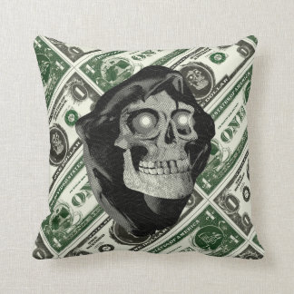 FM RESERVER NOTE doublesided throw pillow