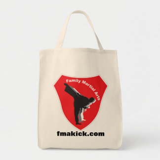 FMA logo, fmakick.com Tote Bag