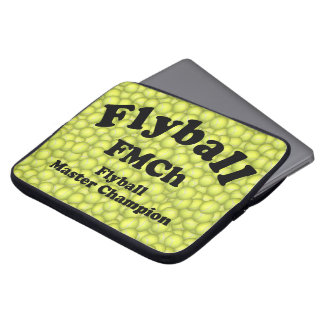 FMCh, Flyball Master Champion 15,000 Points Laptop Sleeve