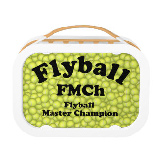 FMCh, Flyball Master Champion 15,000 Points Lunch Box