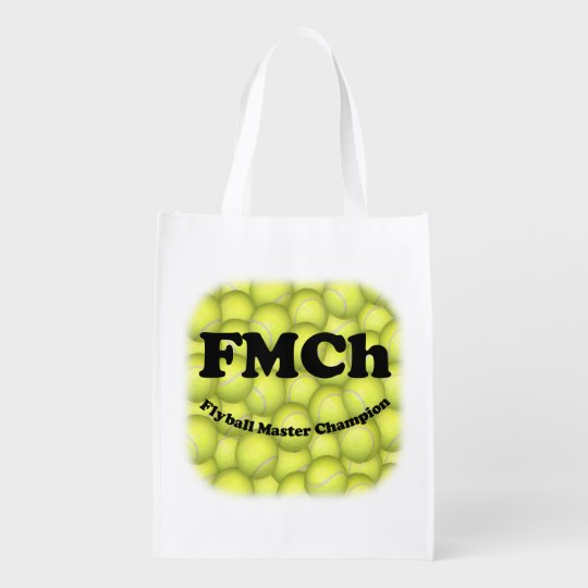FMCh, Flyball Master Champion 15,000 Points Reusable Grocery Bags