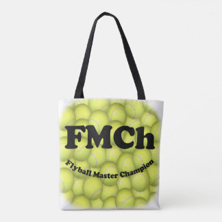 FMCh, Flyball Master Champion 15,000 Points Tote Bag