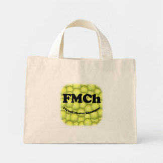 FMCh, Flyball Master Champion Tiny Tote Mini Tote Bag