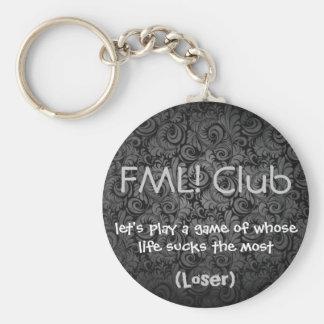 FML Club KC Loser Keychain