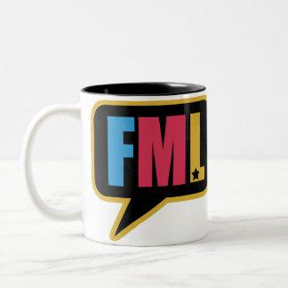 FML (Mug) Two-Tone Coffee Mug
