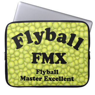FMX, Flyball Master Excellent 10,000 Points Laptop Computer Sleeves