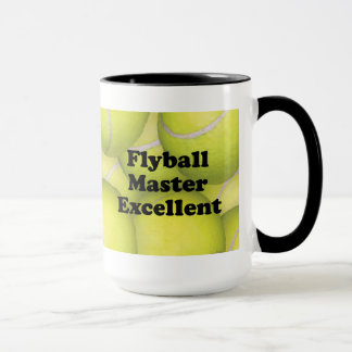 FMX, Flyball Master Excellent 10,000 Points Mug