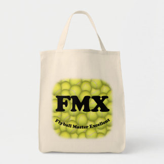 FMX, Flyball Master Excellent Organic Grocery Tote Grocery Tote Bag