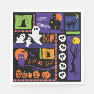 Fn Halloween Party Napkins