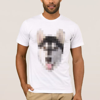 FNG Pixel Husky T-Shirt