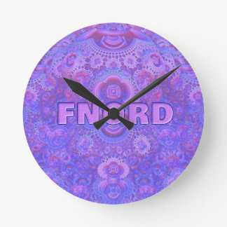 Fnord Medium Round Wall Clock