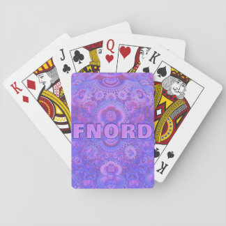 Fnord Playing Cards