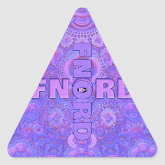 Fnord Triangle Stickers (20)