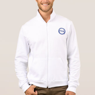 FOA logo American Apparel fleece jacket
