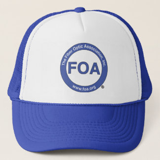 FOA logo trucker cap