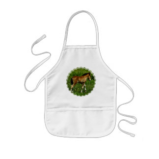 Foal Children's Smock Apron