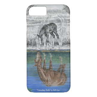 Foal Water Reflection of Horse iPhone 7 Case