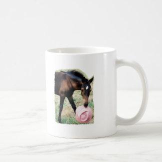 Foal with Pink Hat Coffee Mug