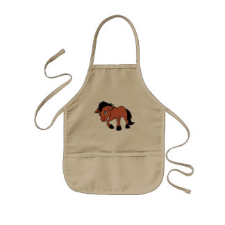 Foal Young Horse National Horse Protection Day Kids Apron