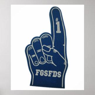 Foam Finger FGSFDS Poster