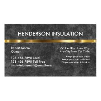 Foam Insulation Business Cards