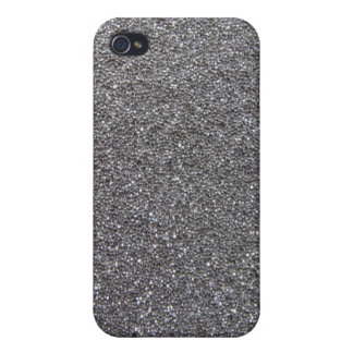 Foam Rubber Grey Covers For iPhone 4